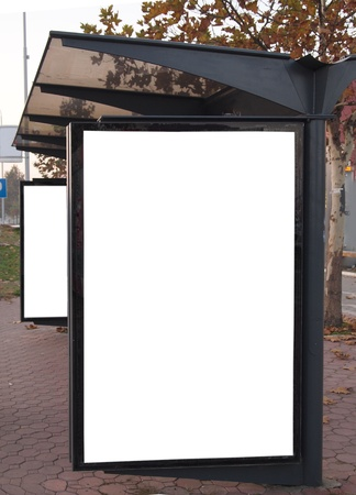 広告の空 bilboard 写真素材