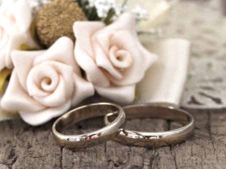wedding rings Zdjęcie Seryjne
