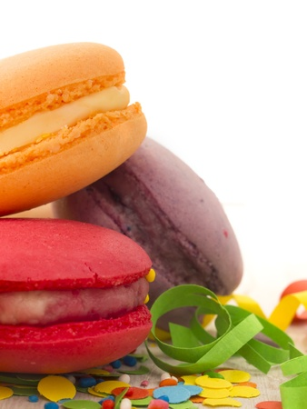 tasteful macaroons Stock Photo - 19420818