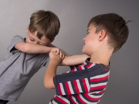 fight between brothers photo