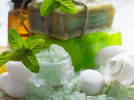 石鹸のバー