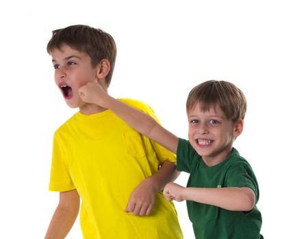 brothers fight Zdjęcie Seryjne