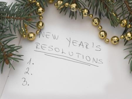 新年の抱負