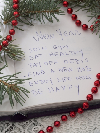year 's: New Year s resolutions