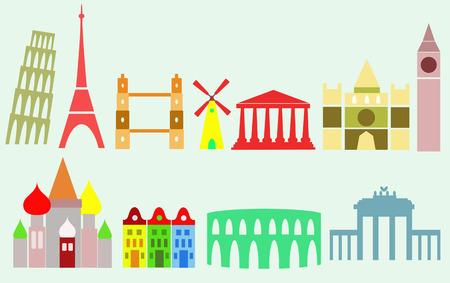 european cities: european cities landmarks