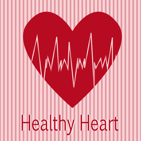 electrocardiograph: healthy heart