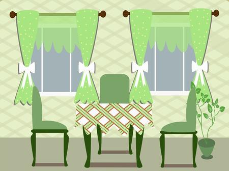 dinning room Ilustracja
