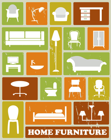 home furniture Stock Vector - 28433531