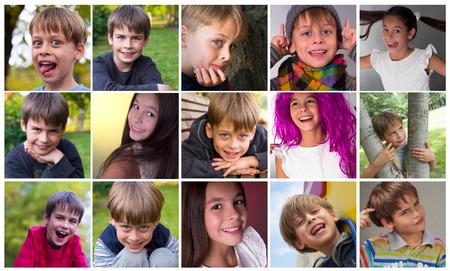 happy, smiling kids photo