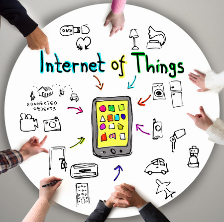 marketing concept: Internet of Things