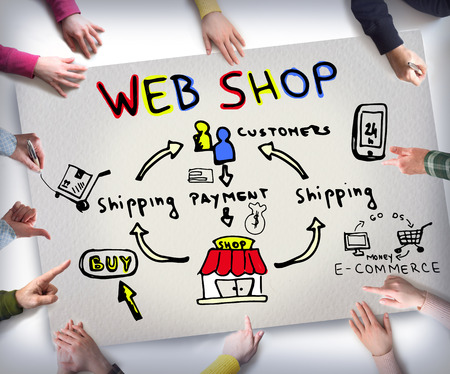web shop, e commerce