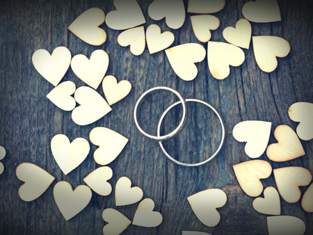 mariage: wedding rings Stock Photo