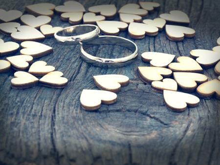 wedding: wedding rings Stock Photo