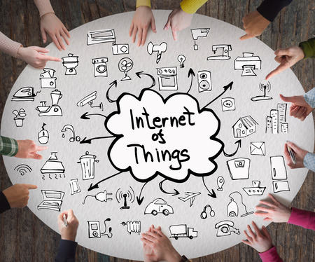 wireless internet: internet of things concept