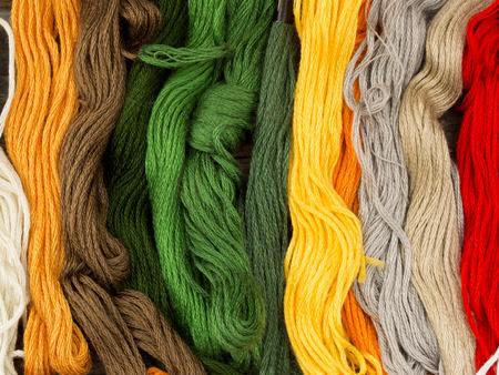 needlecraft: needlecraft embroidery threads Stock Photo