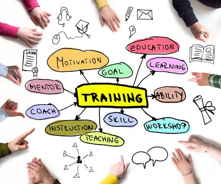 Training concept Zdjęcie Seryjne