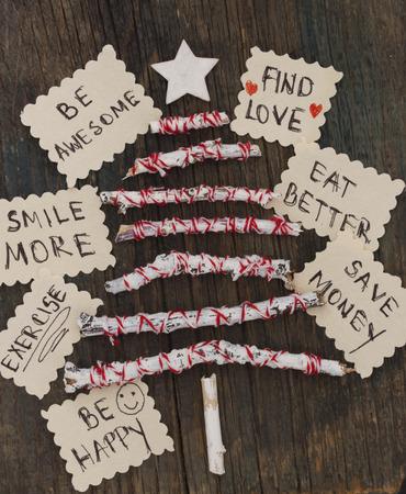 christmas debt: New Years resolutions