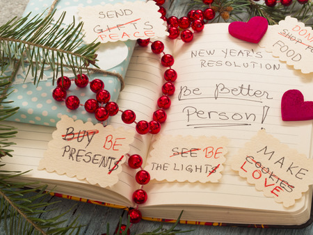 transformed: To Do List transformed into New Years resolutions