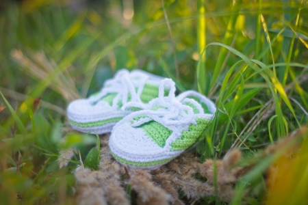 bootees: children s knitted bootees