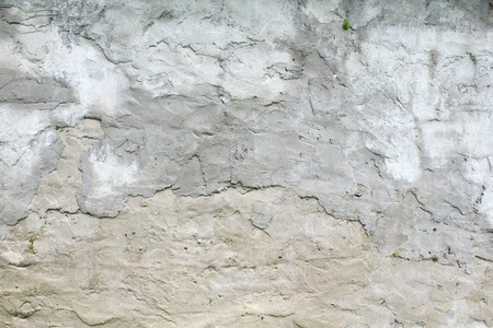 daub: The texture of the concrete wall, wattle and daub plaster gray