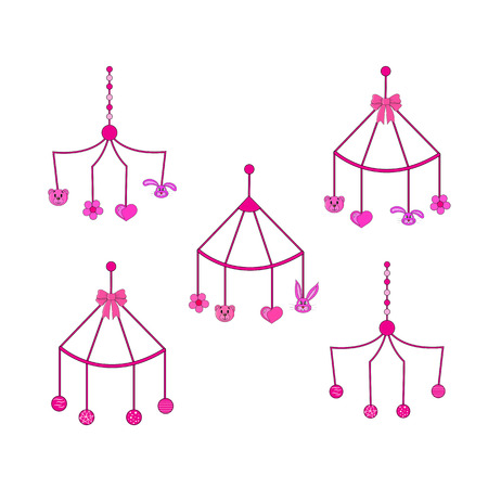 rattles: set of rattles