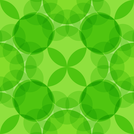 geometric pattern of transparent circles in vector EPS 10