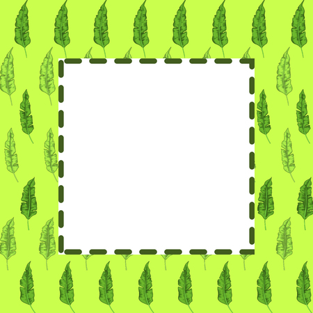 frame of tree branches, vector graphics. Beautiful frames