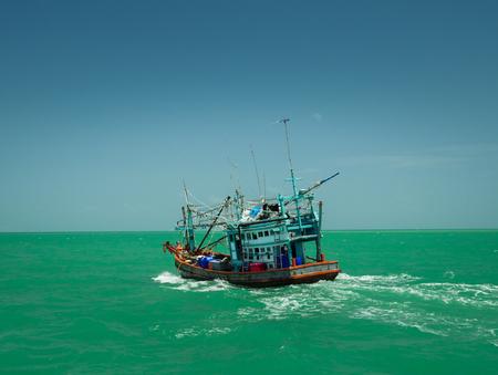 pattaya: thai fishing boat pattaya thailand
