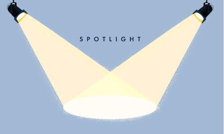 Vector Spotlights. Scene Light Effects Stock Illustratie