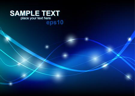 Modern blauw Hi-tech achtergrond