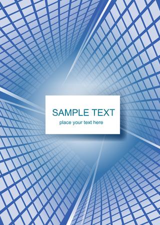 Modern blue Hi-tech background