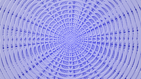 Paper colored pattern from carved circles in pseudo paper style.