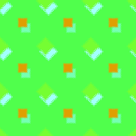 Seamless background pattern with colored varied squares.