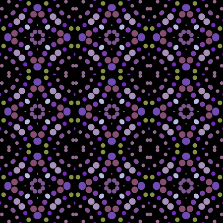 Abstract multicolored varied background pattern for design.