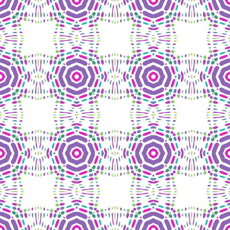 Seamless background pattern with a variety of multicolored lines. Banco de Imagens - 120726285