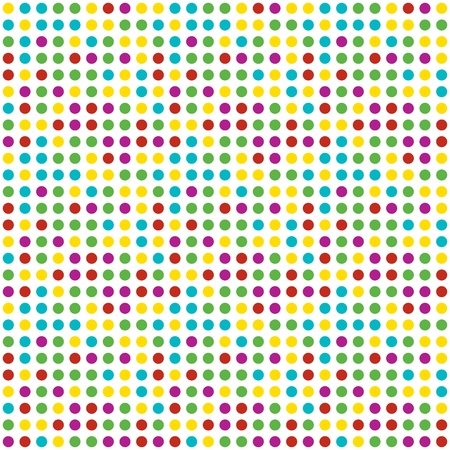 Seamless abstract background of colored varied circles for design. Colored circles background.