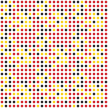 Seamless background pattern of multi-colored varied rhombuses. Background for design.
