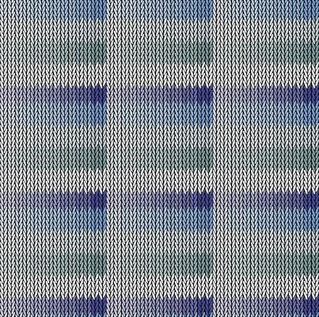 Seamless background pattern. Knitted multicolored texture. Geometry, lines, patterns. Illustration