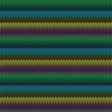 Seamless background pattern. Knitted multicolored texture. Geometry, lines, patterns. Stock Vector - 122806992