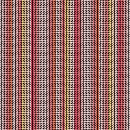 Seamless background pattern. Knitted multicolored texture. Geometry, lines, patterns. 矢量图片