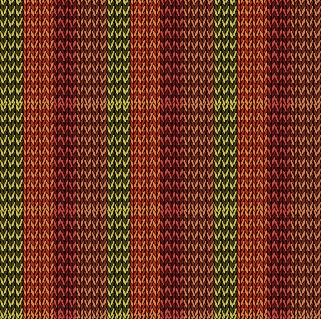 Seamless background pattern. Knitted multicolored texture. Geometry, lines, patterns. Stock Vector - 122506428