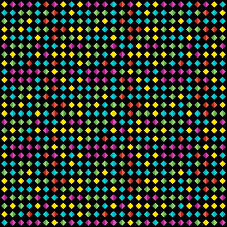 Seamless background pattern of multi-colored varied rhombuses. Background for design. Vectores