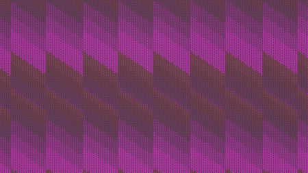 Background with a knitted texture, imitation of wool. Multicolored diverse lines. Banque d'images