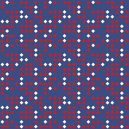 Seamless background pattern of multi-colored varied rhombuses.