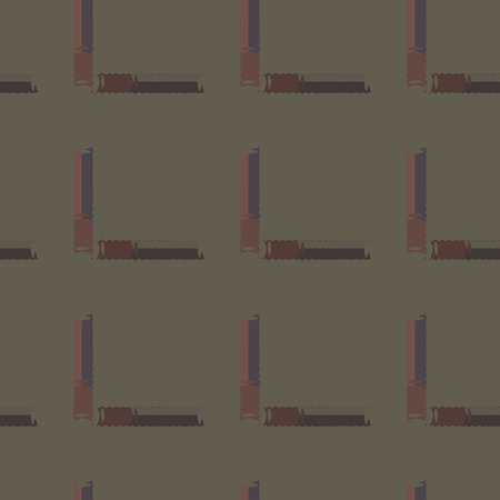 Seamless background pattern with multicolored straight lines. Banco de Imagens