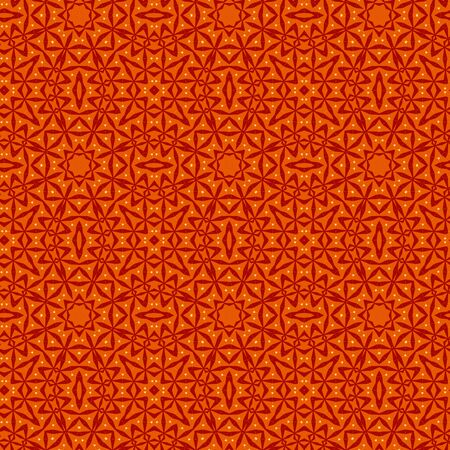 Seamless color pattern from a variety of geometric shapes and lines.