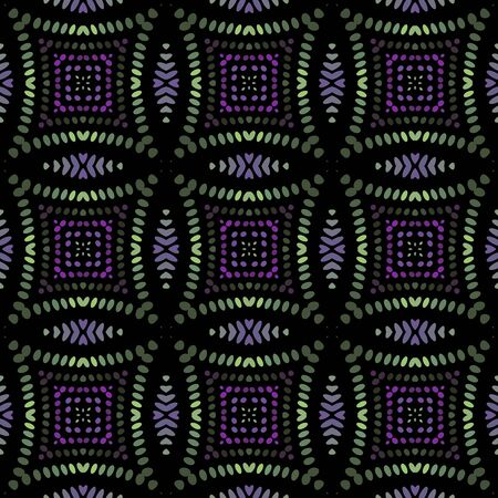 Seamless background pattern with a variety of multicolored lines. Reklamní fotografie - 124874914