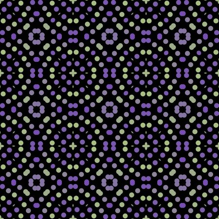 Seamless abstract pattern background with a variety of colored circles. Reklamní fotografie - 124876421