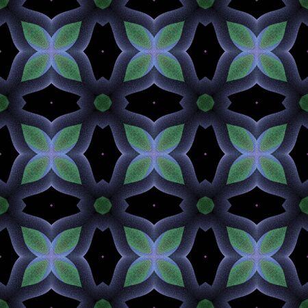 Seamless pattern background with multi-colored wavy lines. Reklamní fotografie - 124876526