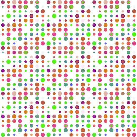 Seamless abstract pattern background with a variety of colored circles. Reklamní fotografie - 124876534